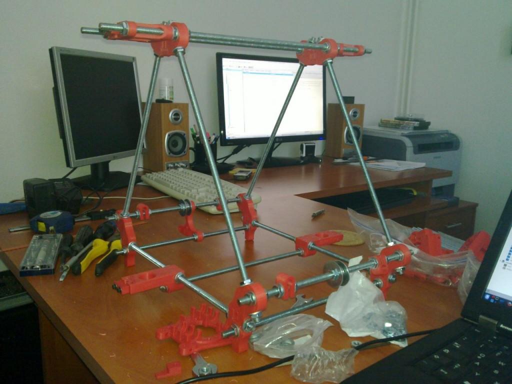RepRap - základní konstrukce